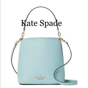 Kate Spade Darcy Small Bucket Crossbody CloudMist